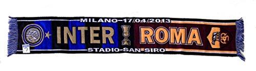 Inter vs Roma bufanda celebrativa semifinale Copa Italia