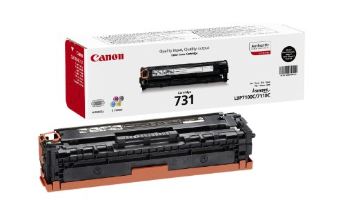 Preisvergleich Produktbild Canon 731BK Toner Cartridge, schwarz