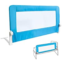Tatkraft Guard Baby Bed Rail Foldable 120 cm Easy Fit Safety Rail for Toddlers/Kids/Children, Sturdy and Solid