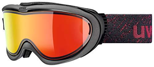 Uvex Erwachsene Comanche TOP Skibrille, Anthracite/Red mat, One Size