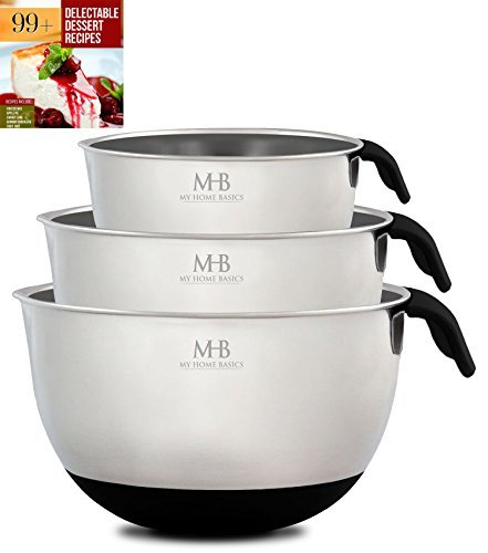stainless-steel-mixing-bowls-for-kitchen-cooking-and-baking-1qt-25qt-45qt-black-handle-spout-free-eb