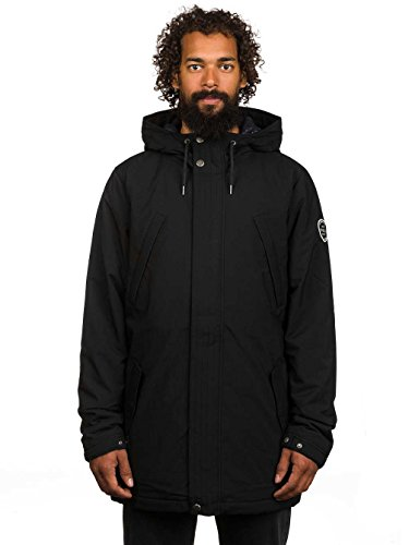 Herren Jacke O'Neill Expedition Parka Jacke Black Out