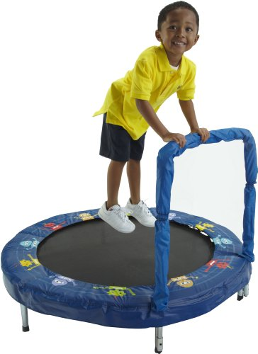 Bazoongi 48-inch Robot Bouncer Trampoline with Handle Best Price and Cheapest