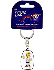 FIFA Coupe du Monde féminine France 2019™ Keyring Offset Mascot/Trophy Adulte Unisexe Réplique Taille Unique
