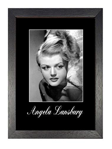 Angela Lansbury, A3Poster, Vintage, Foto, Grafik imagae, Bild, Schwarz und Weiß, Foto, alt, retro, Druck, Oldschool, Gute Leute-film