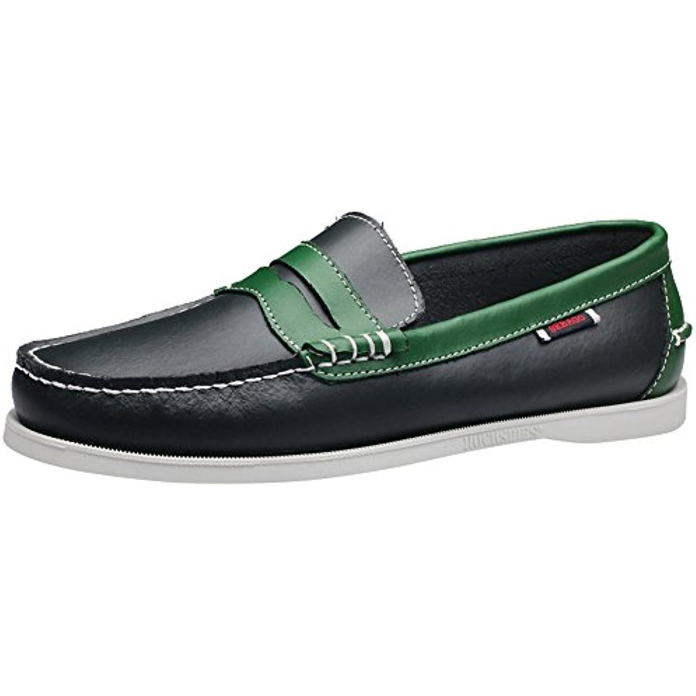 wealsex Chaussures Bateau Bateau Bateau Hommes Chaussures de Ville Derby Cuir Chaussure Affair Conduite Casuel - B07C4T3VCZ - b8f8ad