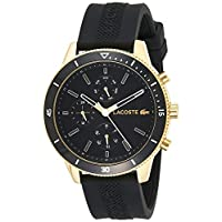 Lacoste Key West Men's Black Dial Silicone Band Watch - 2010994