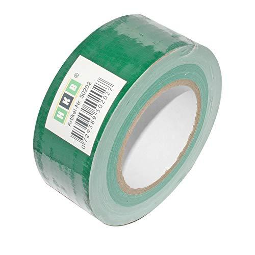 - Faser (HKB ® 1 Rolle Panzerband Panzertape Klebeband Gewebeband Faser-Klebeband Gaffer-Tape Duct Tape, 50m X 50mm, grün, Hersteller HKB, Artikel-Nr. 50202)