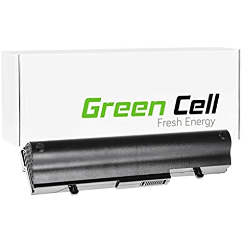 Green Cell® Extended Serie Portátil Batería para Asus Eee-PC 1005 Ordenador (6600mAh)