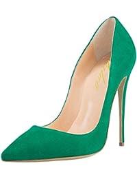 Lutalica Zapatos de tacón Alto con tacón de Aguja de Boda para Mujer, con Punta