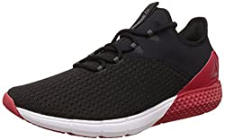 Reebok Mens Reebok Fire Tr Black, Red, White and Grey Nordic Walking Shoes - 10 UK/India (44.5 EU)(11 US)