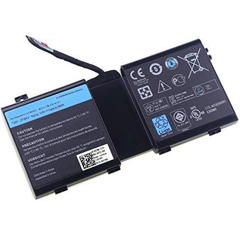 GreatCell 2F8K3 14.8V 86Wh Ersatz Laptop Akku Batterie kompatibel mit Dell Alienware 17 18 18x M17X R5 M18X R3 Series 02F8K3 KJ2PX 0KJ2PX G33TT 0G33TT -