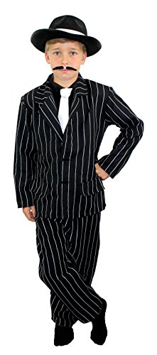 Kostüm Für Dress Jungen Fancy - I Love Fancy Dress ILFD7038S Jungen Gangster-Kostüm, Größe S