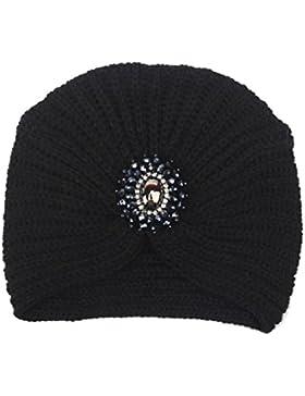 Gorro de invierno, RETUROM Nuevo estilo de invierno de las mujeres caliente Knit Crochet Ski Hat trenzado Turban...