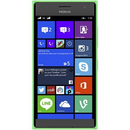 'Nokia Lumia 7308GB grün-Smartphone (11,94cm (4.7), 1280x 720Pixel, OLED, 1,2GHz, Qualcomm Snapdragon, 1024MB)