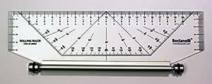 25cm 250mm Règle Roulante Parallèle Professionnelle - Dessin Technique Architecture Ingénierie Ingénieur