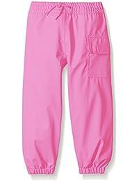 Hatley Childrens Splash Pant -Pink - Pantalones Impermeable Niños