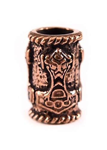 Adorno Barba martillo Thor bronce