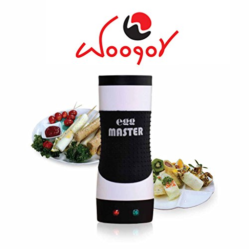 Woogor Egg master By Woogor , Egg master to make Hot Dog shaped Omelet with Vertical Grill Technology
