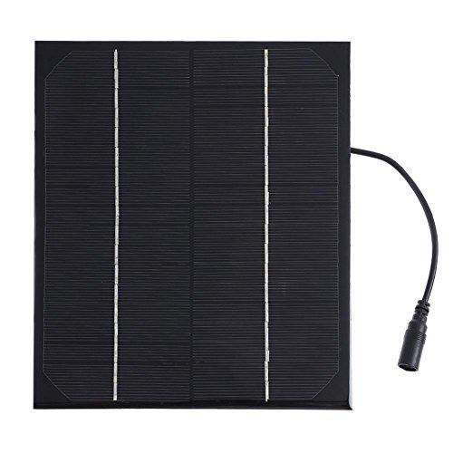 amazingdeal 6W 18V Solar Power Panel Single Silikon DC Output Akku Lade Board