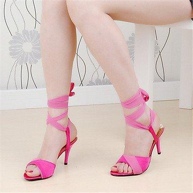Zormey Les Talons De Femmes Club D'Été En Daim Talon Aiguille Chaussures Occasionnels De La Chaîne US9.5-10 / EU41 / UK7.5-8 / CN42