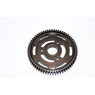 Axial Yeti Steel #45 Spur Gear 32 Pitch 64T - 1Pc Black