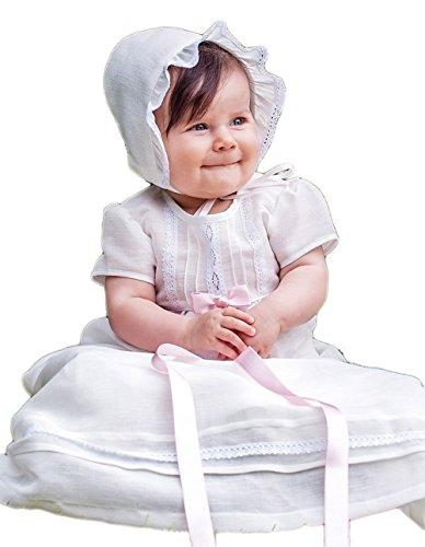 Taufe Motorhaube (Grace of Sweden Baby Jungen (0-24 Monate) Taufbekleidung weiß gebrochenes weiß Medium, 17-18 in, 43-46 cm)