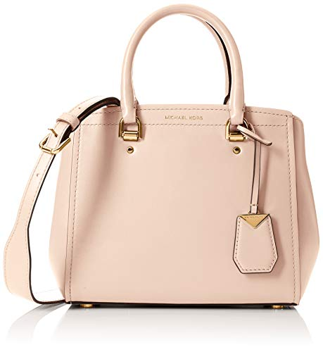 Michael Kors Damen Benning Leather Tote Soft Pink, 10x22x19 cm