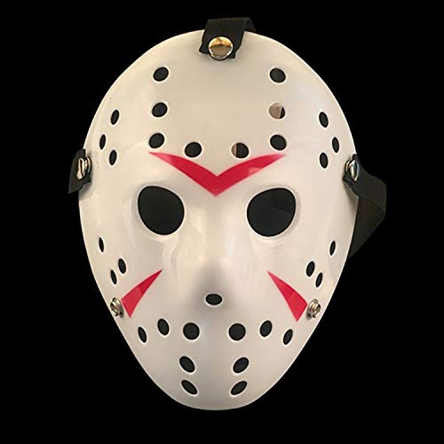 Freddy Jason Kostüm Und - LIZHIOO Maske Halloween Maske Freitag der 13. Halloween Myers Jason VS Freddy Kostüm Prop Horror Hockey Maske Mascara Halloween Cosplay Kostüm (Color : Style 6)