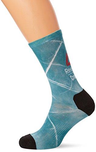 Reebok Cf M Print Galaxy C, Calcetines de Deporte para Hombre, Blu (Brablu), 40/41 (Talla de Fabricatne 4042)