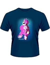 Plastic Head Men's Breaking Bad Teddy Pool Banded Collar Short Sleeve T-Shirt