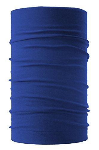 HeadLOOP Multifunktionstuch Schal Halstuch Kopftuch Microfaser (Blau)
