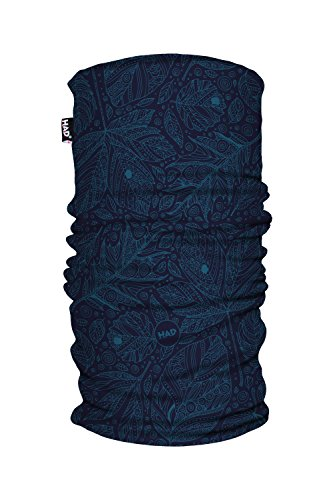 Had Printed Fleece Tube/one Size Funktionstuch, Autuno Blue