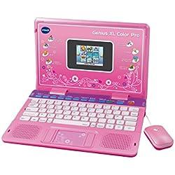 VTech Genius Color XL Pro Bilingüe, Computer Kid, Rose (133865) (versión en inglés)