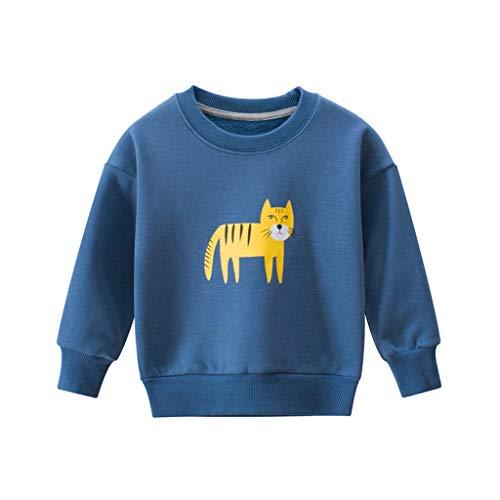 Baby Hemden,Kobay Kleinkind scherzt Baby-Mädchen-Sweatshirt-Kaninchen-Karikatur-Pullover-Hemd-Spitzenkleidung