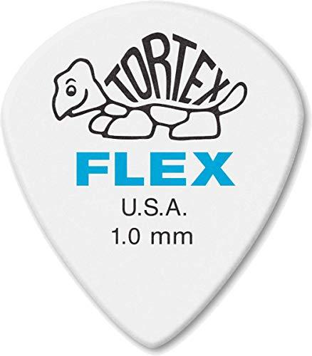 Jim Dunlop 466p1.00plettro Flex Jazz III XL Picks, 1.0mm, confezione da 12pezzi