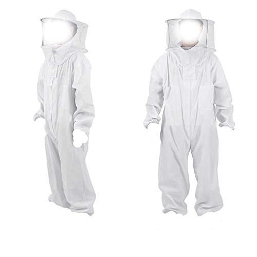 KEHUASHINA Unisex Imkerei Biene Anzug Kleidung Hut Professionelle Schutzausrüstung Neue Größe XXL -