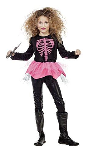 Wilbers Grusel Kinder Kostüm Skelett Ballerina Halloween Gr.164