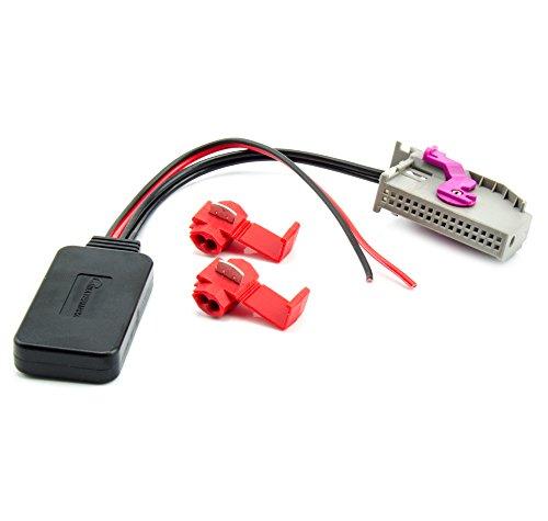 Watermark WM-BT43 Bluetooth AUX Adapter kompatibel für Audi RNS-E A3 A4 A6 A8 TT Navi Radio MP3