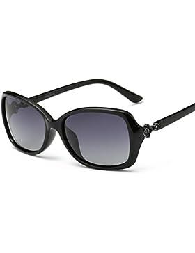 Gafas de sol de mujer caja pequeña/La moda retro gafas de sol polarizadas/Gafas de sol de conducción