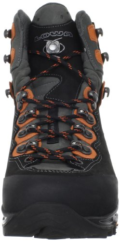 Lowa Camino Gtx, Stivali da Escursionismo Uomo Black Orange