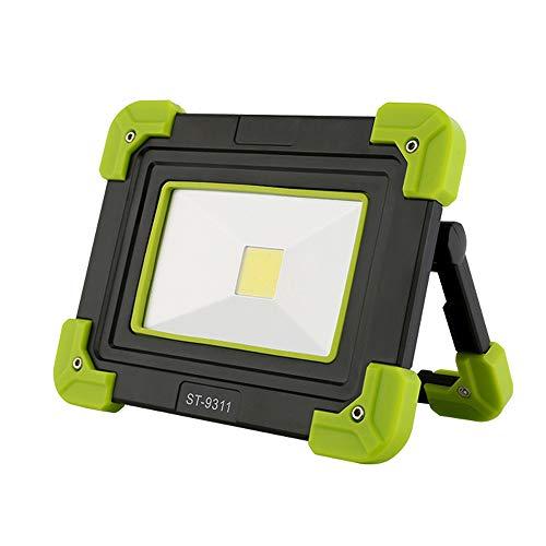 COB Multifunktions-High-Power-Portable Outdoor-Reisen Camping Notfall-Auto zu Hause Langstrecken-Bergmann Lampe Lade Flutlicht LED-Arbeit tragbare Licht Taschenlampe wasserdicht Tauchen Patrouille -