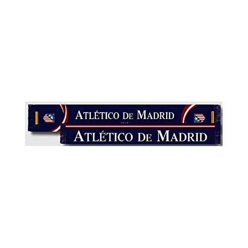 Bufanda Atlético de Madrid doble Azul oscuro