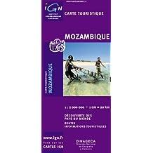 Carte routière : Mozambique