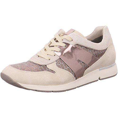 comparamus tamaris damen sneakers wei silber schuhgr e eur 38. Black Bedroom Furniture Sets. Home Design Ideas