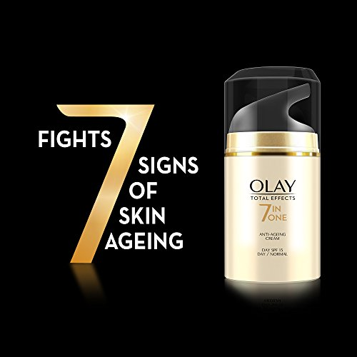 Olay Total Effects Day Cream 7 in 1 Normal SPF 15 (Up to 2x power for skin renewal), 50gm