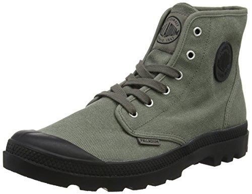 Herren Rugged Casual Boot (Palladium Us Pampa High H 71864-101, Herren Halbstiefel, Grau (Gris foncé (Metal)), 42 EU)