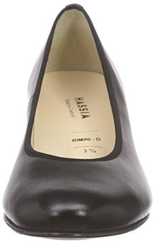 Hassia Rimini, Weite G, Escarpins femme noir (0100 schwarz)