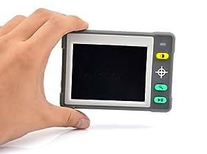 """Walsoon VM031 Loupe numérique portable avec sortie vidéo Dispositif d'aide à la lecture avec 7 modes de couleurs 8,89 cm [3,5""""]"""
