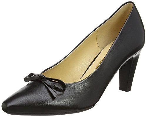 femme Forest cuir noir Escarpins Noir Gabor Noir gEdUxUS